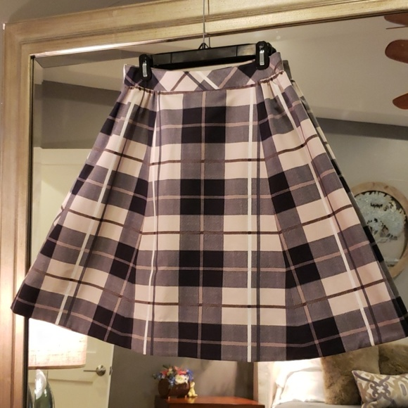 8d0b7e3ca kate spade Skirts | Ny Woodland Plaid Skirt | Poshmark
